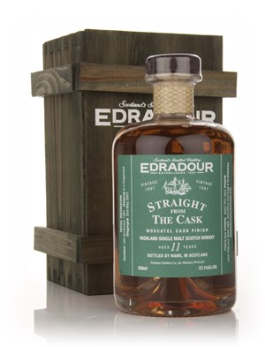 Edradour 11 Year Old 1997 Moscatel Cask Finish - Straight from the Cask