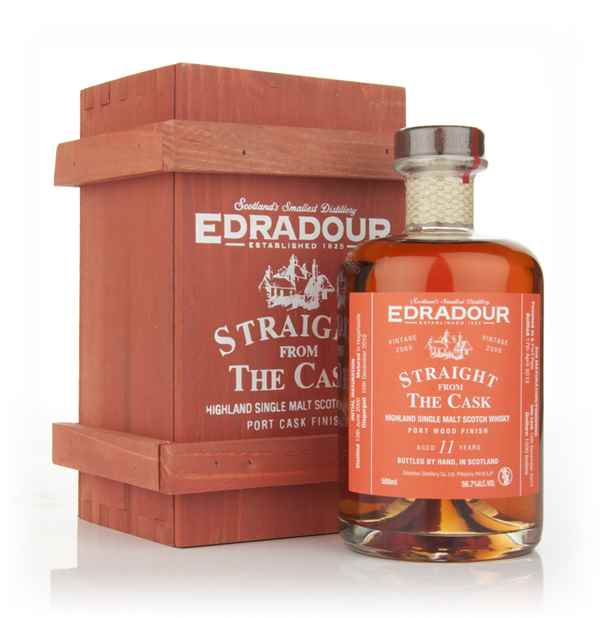 Edradour 11 Year Old 2000 Port Wood Finish - Straight from the Cask