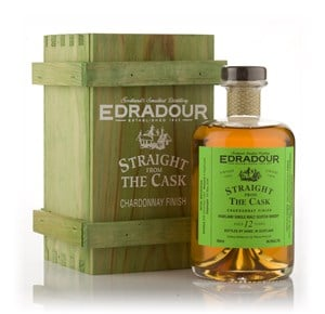 Edradour 12 Year Old 1995 Chardonnay Cask Finish - Straight From The Cask