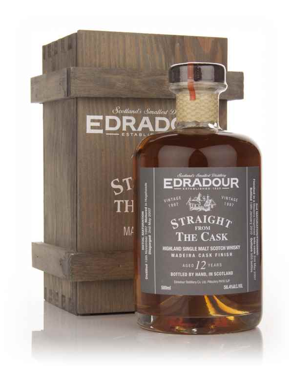 Edradour 12 Year Old 1997 Madeira Cask Finish - Straight from the Cask