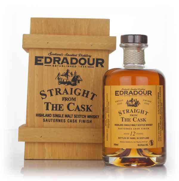 Edradour 12 Year Old 2000 Sauternes Cask Finish - Straight From The Cask