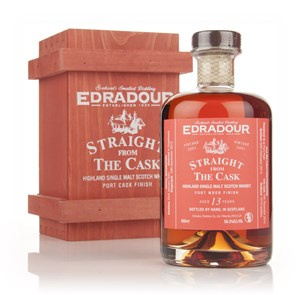 Edradour 13 Year Old  2001 Port Pipe Finish - Straight From The Cask