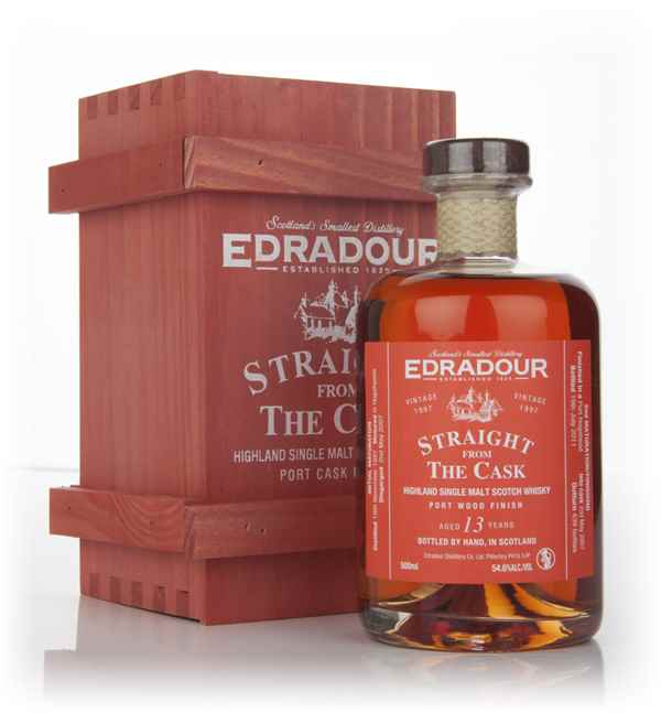 Edradour 13 Year Old 1997 Port Wood Finish - Straight from the Cask