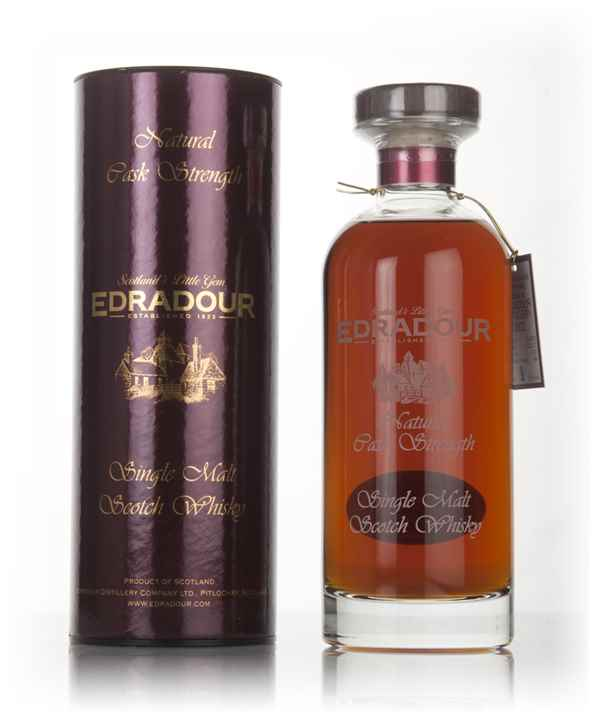 Edradour 14 Year Old 2002 (cask 1421) Natural Cask Strength - Ibisco Decanter