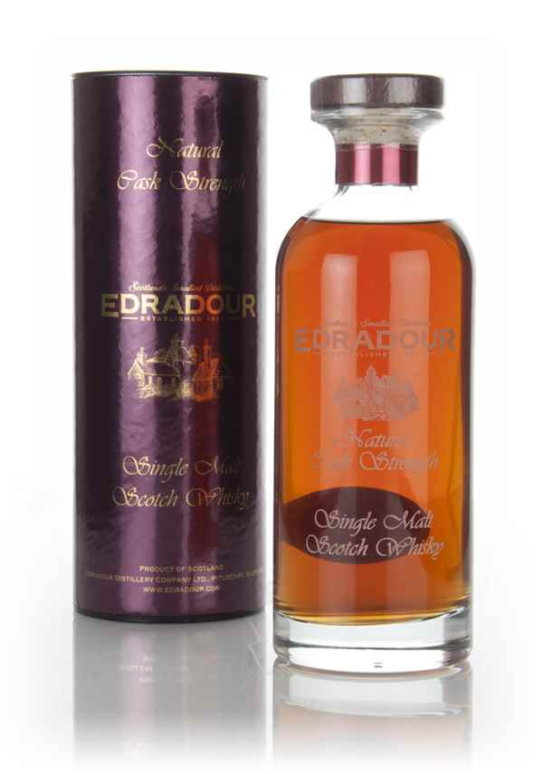 Edradour 15 Year Old 2001 (cask 2202) Natural Cask Strength - Ibisco Decanter