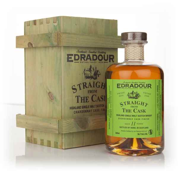 Edradour 11 Year Old 2000 Chardonnay Cask Finish - Straight from the Cask
