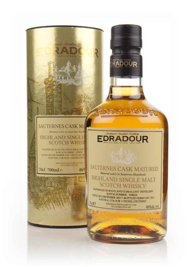 Edradour 2003 Sauternes Cask Matured - Batch 3