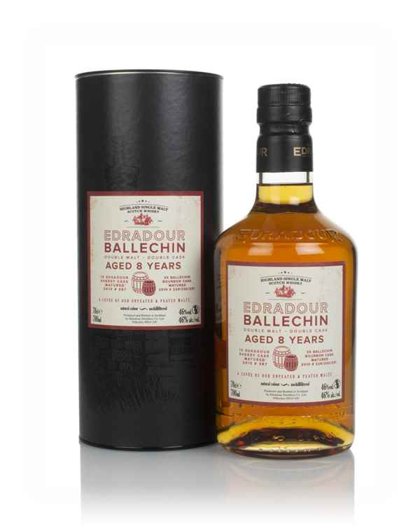 Edradour Ballechin 8 Year Old Double Malt Double Cask