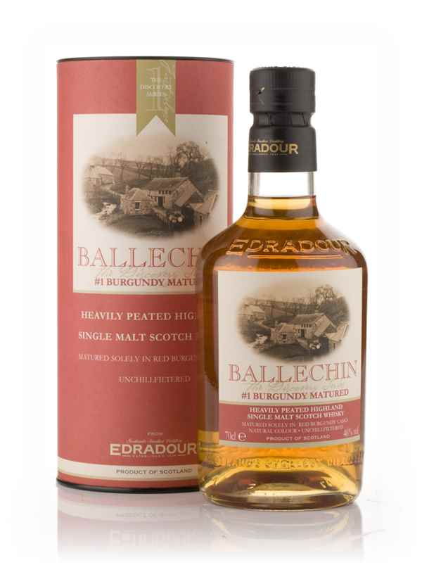 Edradour Ballechin #1 Burgundy Cask Matured (The Discovery Series)
