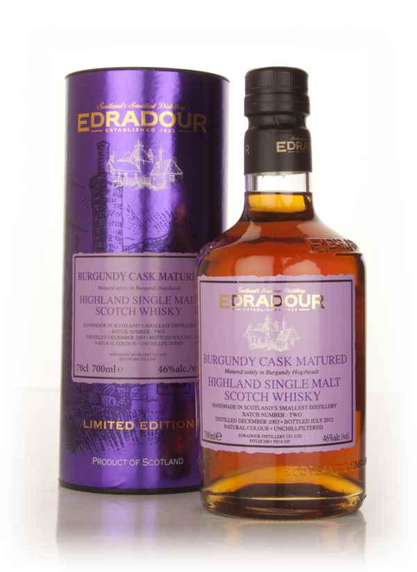 Edradour 2003 Burgundy Cask Matured - Batch 2