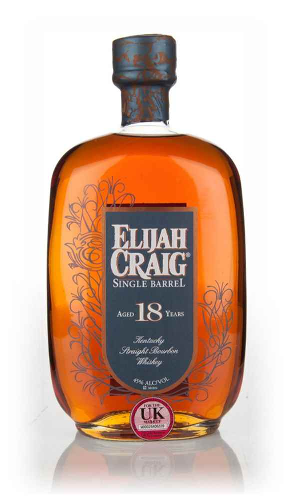 Elijah Craig Single Barrel 18 Year Old