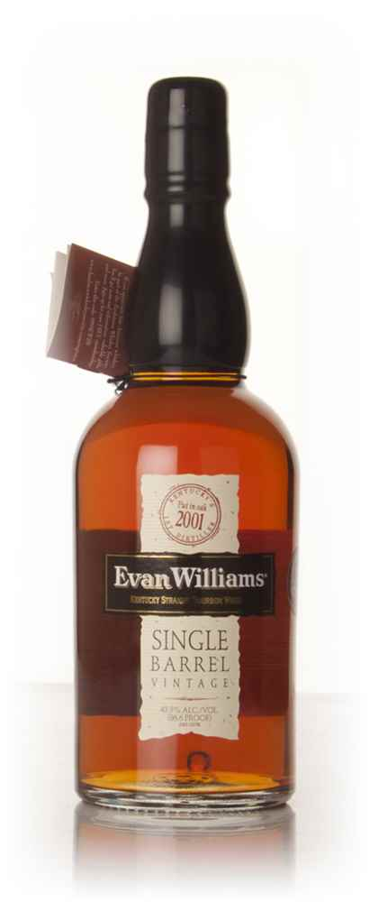 Evan Williams 2001 Single Barrel