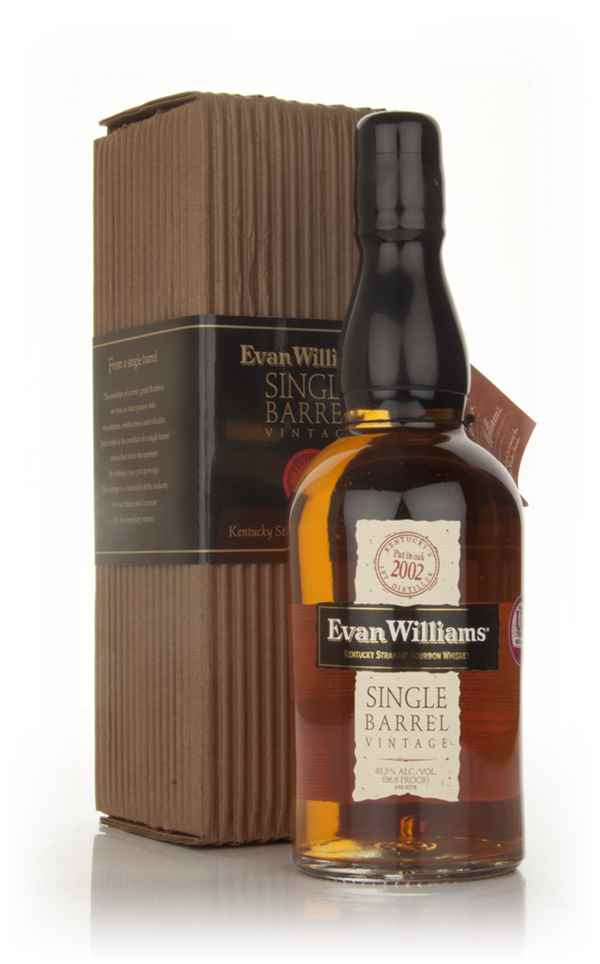 Evan Williams Single Barrel 2002 Vintage