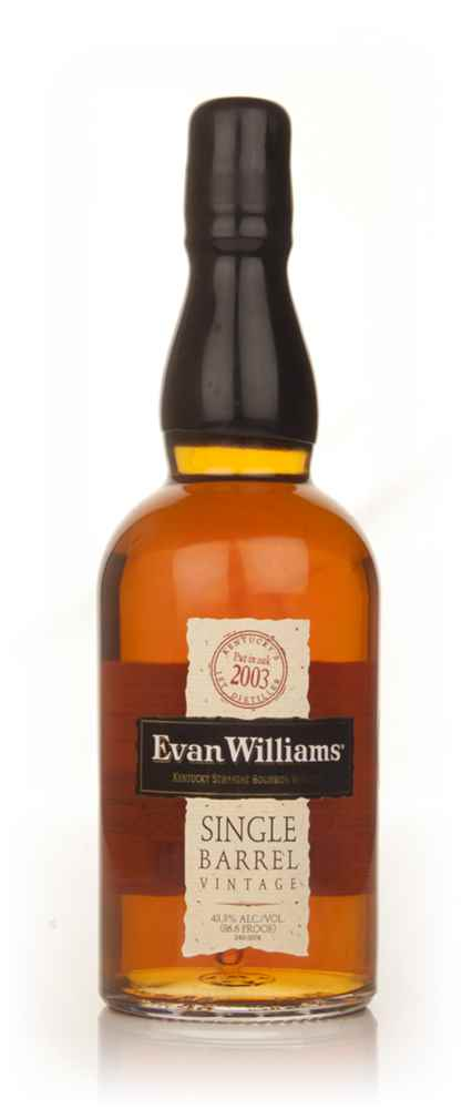 Evan Williams Single Barrel 2003 (bottled 2013)