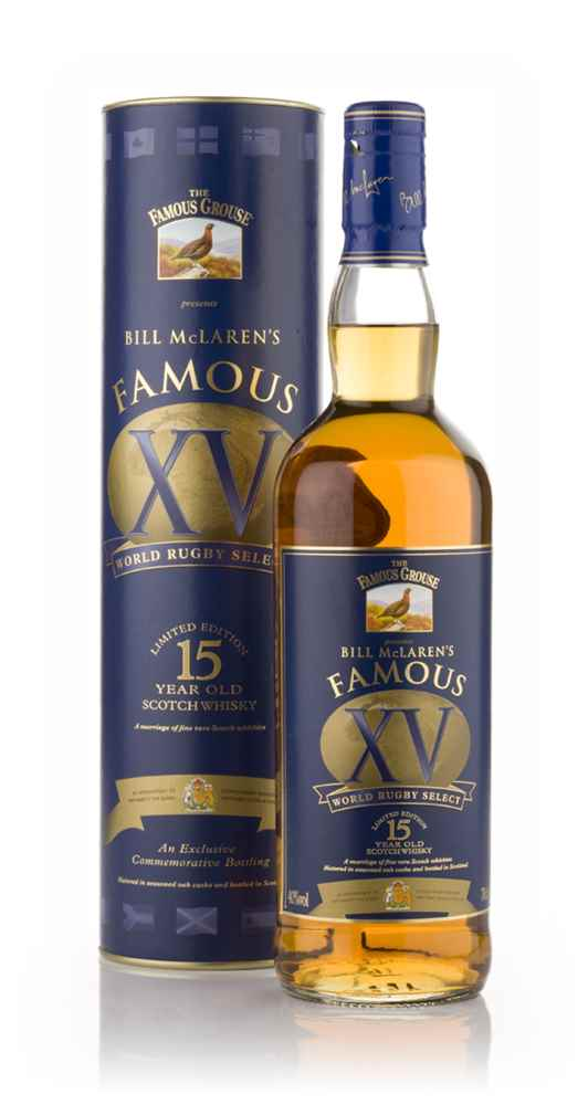 Famous Grouse 15 Year Old Bill McLaren's Famous 15