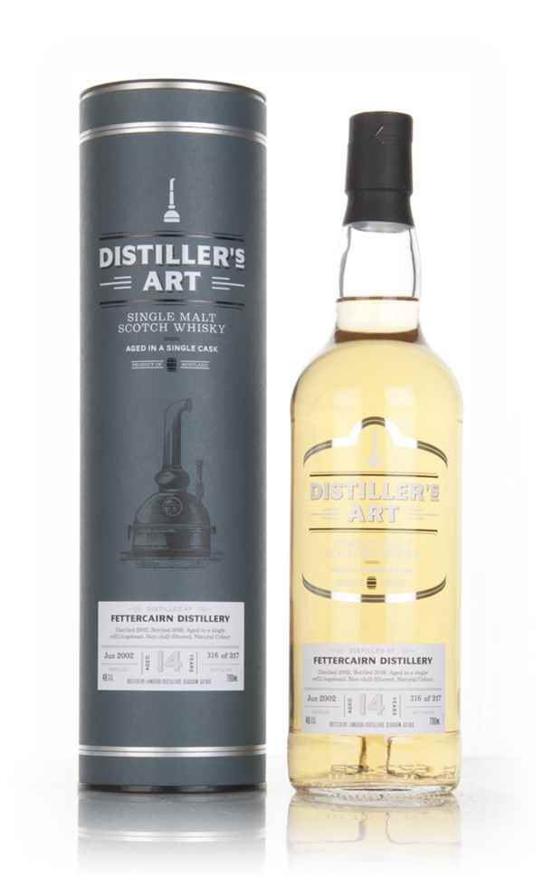 Fettercairn 14 Year Old 2002 - Distiller's Art (Langside)