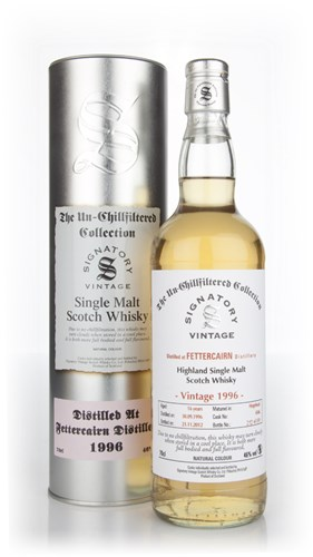 Fettercairn 16 Year Old 1996 - Un-Chillfiltered (Signatory)