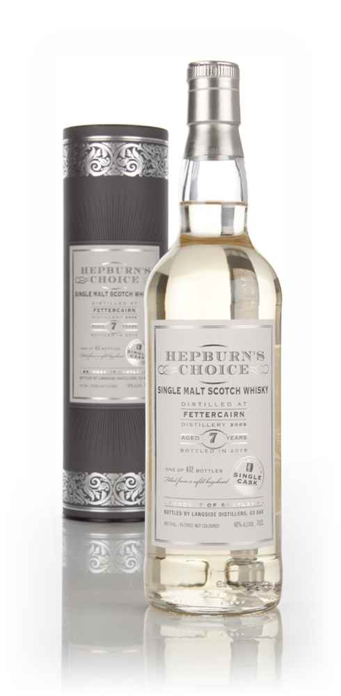 Fettercairn 7 Year Old 2008 (bottled 2015) - Hepburn's Choice (Langside)