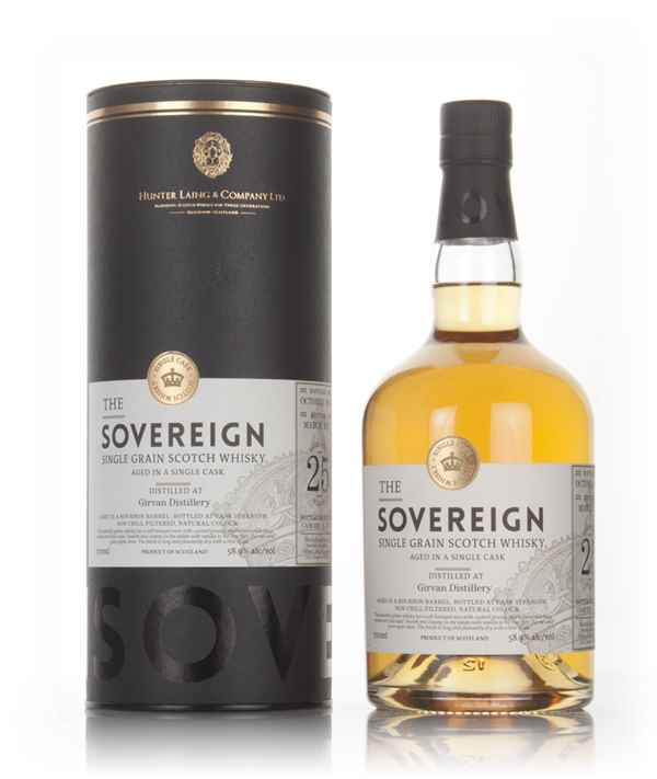 Girvan 25 Year Old 1991 (cask 13285) - The Sovereign (Hunter Laing)