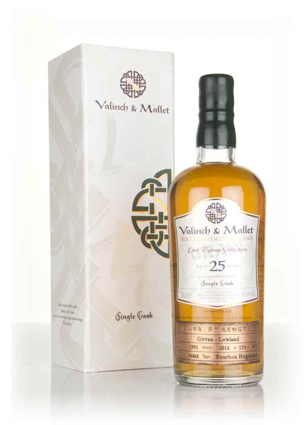 Girvan 25 Year Old 1991 (cask 54468) - Lost Drams Collection (Valinch & Mallet)