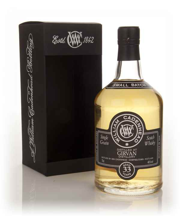 Girvan 33 Year Old 1979 - Small Batch (WM Cadenhead)