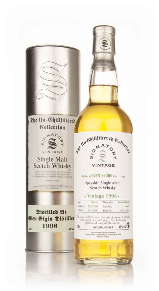Glen Elgin 14 Year Old 1996 - Un-Chillfiltered (Signatory)