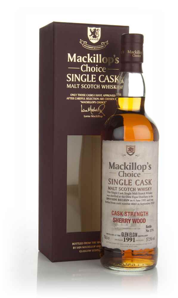 Glen Elgin 19 Year Old 1991 (cask 4065) - Mackillop's Choice