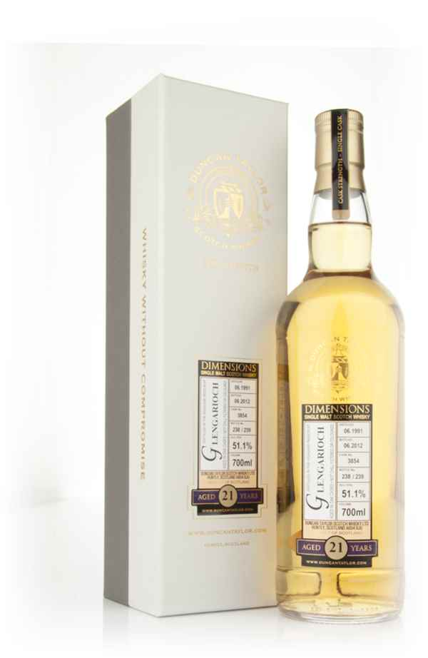 Glen Garioch 21 Year Old 1991 - Dimensions (Duncan Taylor)