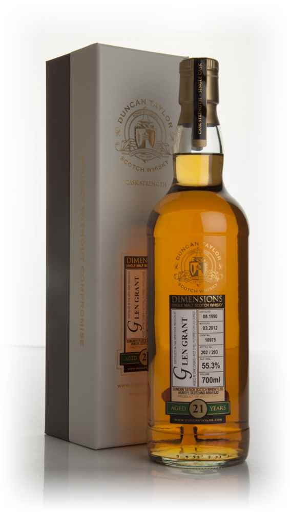 Glen Grant 21 Year Old 1990 - Dimensions (Duncan Taylor)