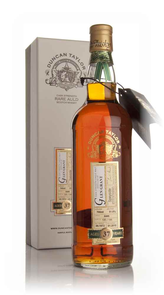 Glen Grant 37 Year Old 1972 - Rare Auld (Duncan Taylor)