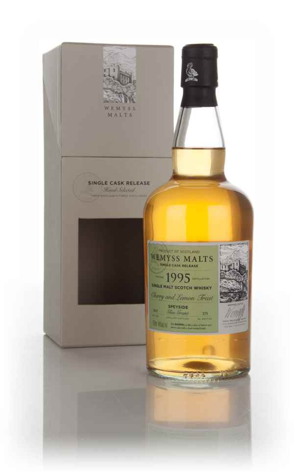 Cherry and Lemon Treat 1995 (bottled 2015) - Wemyss Malts (Glen Grant)