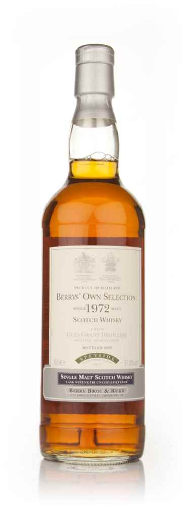 Glen Grant 1972 (Berry Bros. & Rudd)