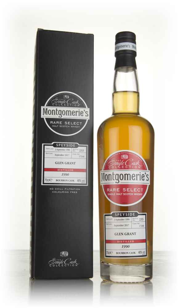 Glen Grant 1990 (cask 17246) (bottled 2017) - Rare Select (Montgomerie's)