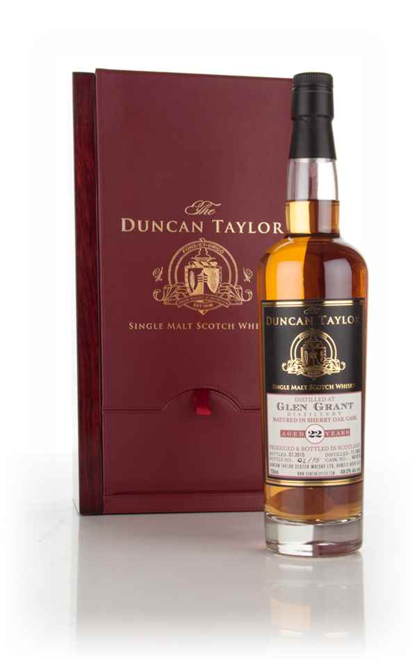 Glen Grant 22 Year Old 1992 (cask 441018) - The Duncan Taylor Single