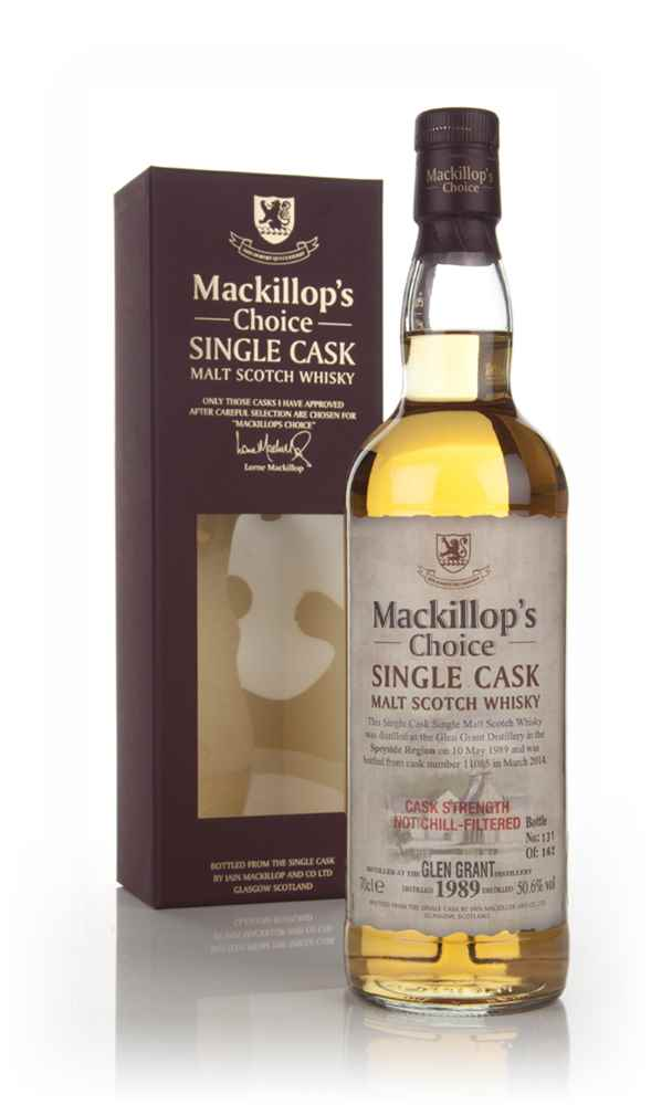 Glen Grant 24 Year Old 1989 (cask 11085) - Mackillop's Choice