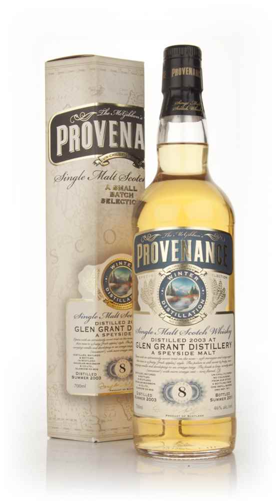 Glen Grant 8 Year Old 2003 - Provenance (Douglas Laing)