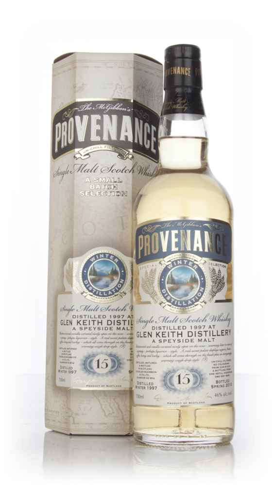 Glen Keith 15 Year Old 1997 (cask 9655) - Provenance (Douglas Laing)