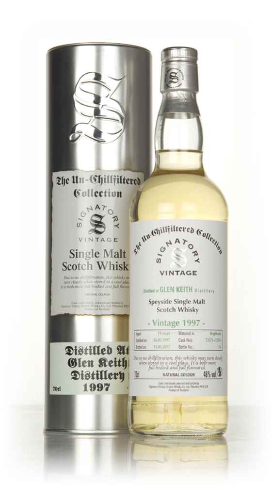 Glen Keith 19 Year Old 1997 (cask 72575 & 72576) - Un-Chillfiltered Collection (Signatory)