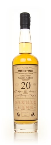 Glen Keith 20 Year Old - Single Cask (Master of Malt)