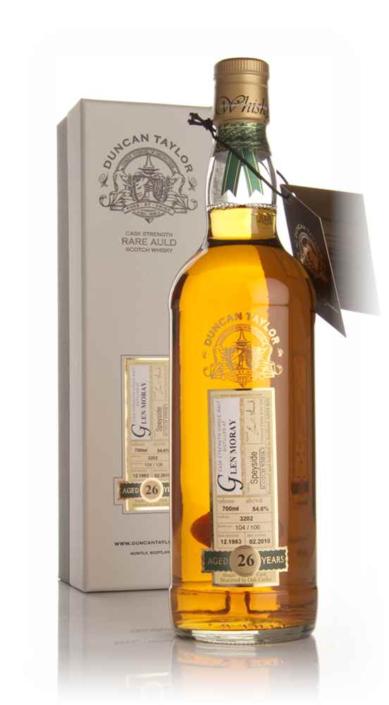 Glen Moray 26 Year Old 1983 - Rare Auld (Duncan Taylor)