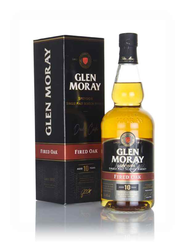 Glen Moray 10 Year Old Fired Oak