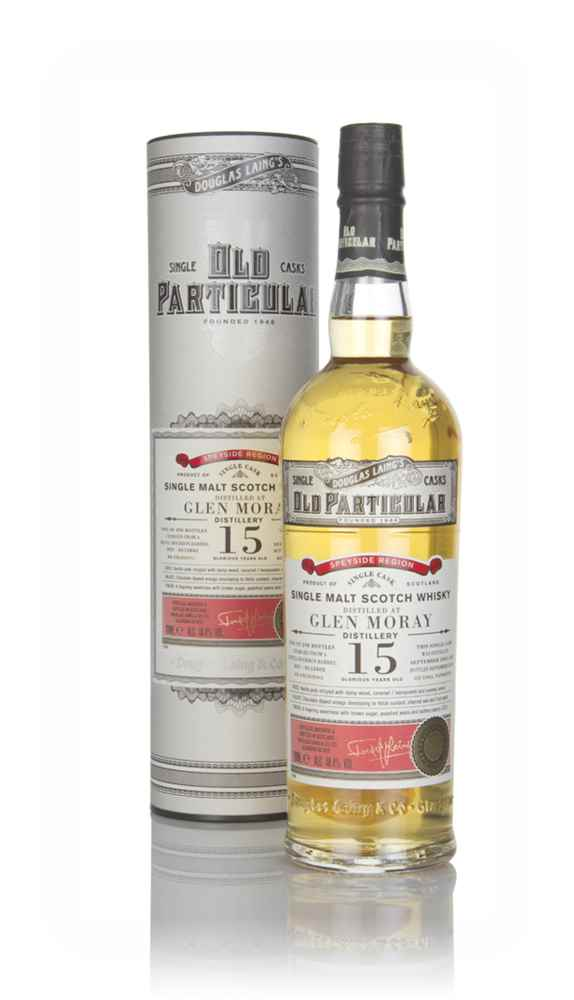 Glen Moray 15 Year Old 2003 (cask 12802) - Old Particular (Douglas Laing)