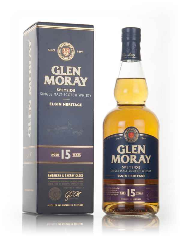 Glen Moray 15 Year Old - Elgin Heritage