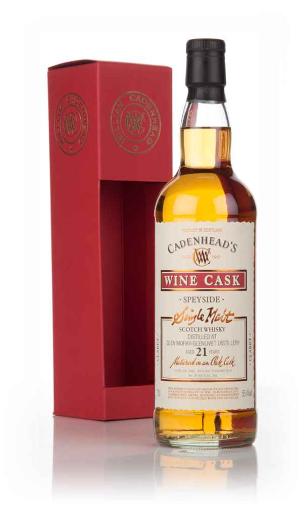 Glen Moray 21 Year Old 1992 - Wine Cask (WM Cadenhead)