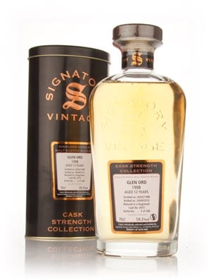 Glen Ord 12 Year Old 1998 Cask 3473 - Cask Strength Collection (Signatory)