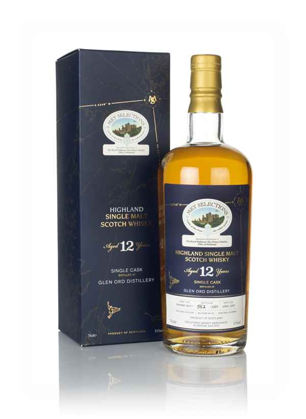 Glen Ord 12 Year Old 2007 - Mey Selections