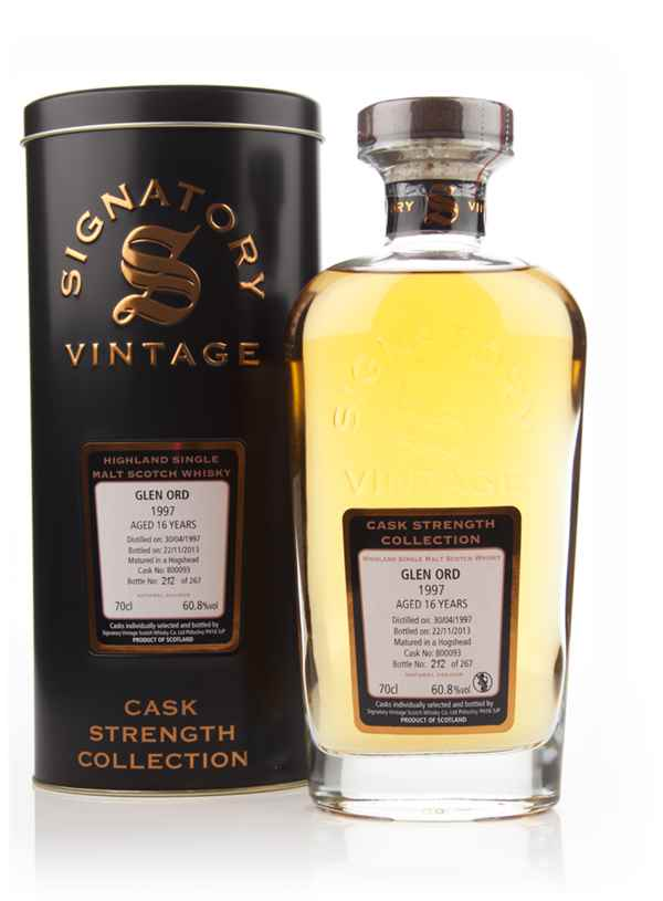 Glen Ord 16 Year Old 1997 (cask 800093) - Cask Strength Collection (Signatory)