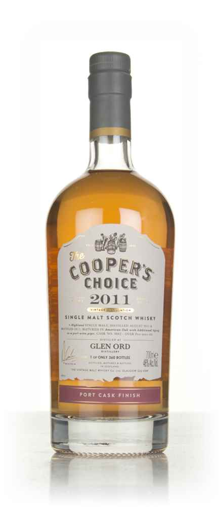 Glen Ord 5 Year Old 2011 (cask 9863) - The Cooper's Choice (The Vintage Malt Whisky Co.)