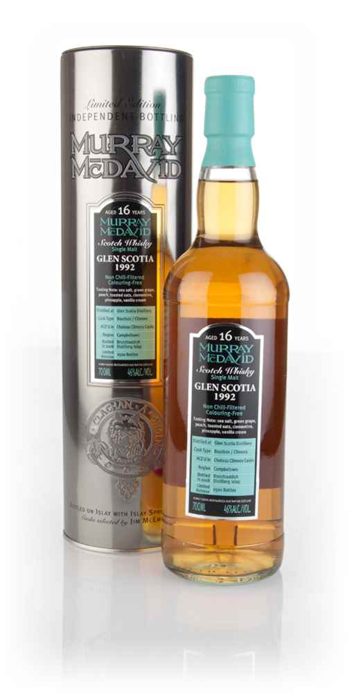 Glen Scotia 16 Year Old 1992 (Murray McDavid)