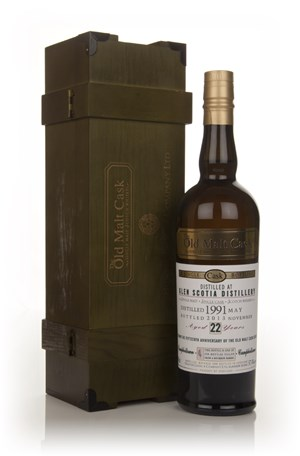 Glen Scotia 22 Year Old 1991 - Old Malt Cask 15th Anniversary (Hunter Laing)